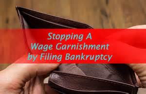 Bankruptcy Wage Garnishments